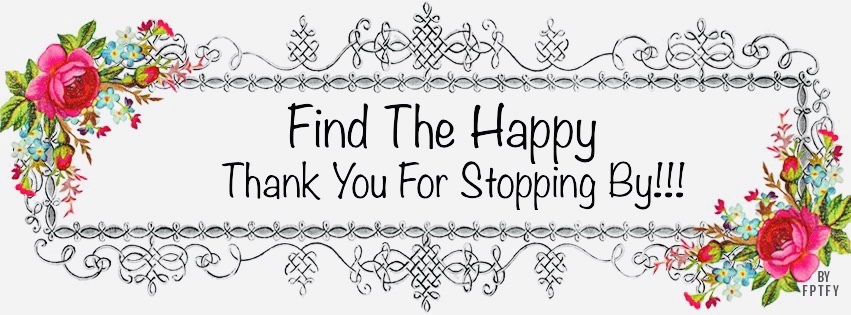 A welcome banner for Find The Happy