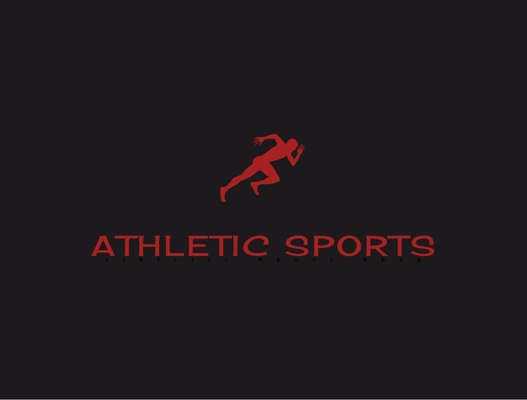 A welcome banner for Athletic_Sports's booth