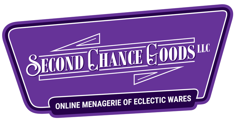 A welcome banner for Second Chance Goods LLC