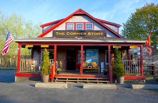A welcome banner for BoomerangEcho's Corner Store