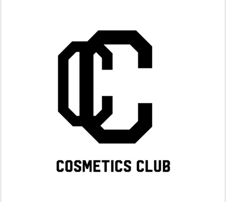 A welcome banner for Cosmetics' store
