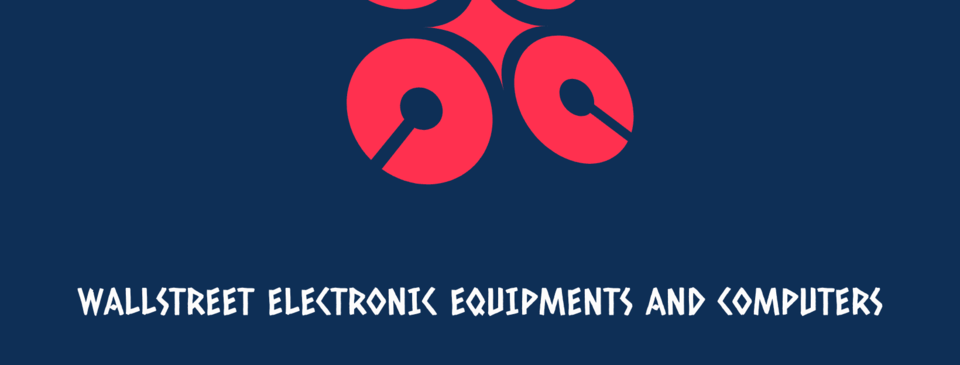 A welcome banner for Wallstreet_electronic_equipments_and_computers's.myshopify.com booth