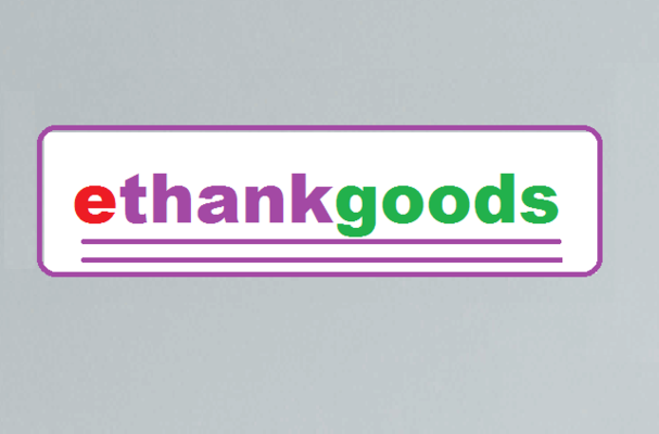 A welcome banner for ethankgoods
