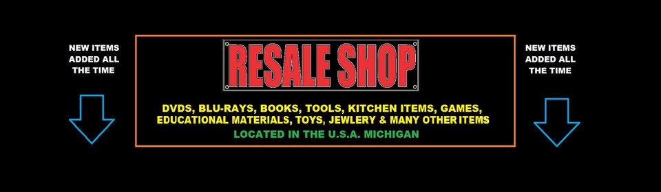 A welcome banner for Willy's New and Vintage Resale