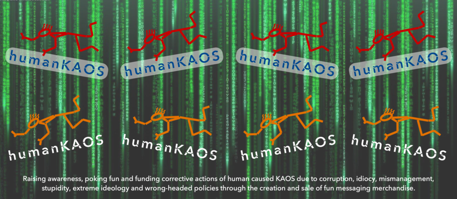 A welcome banner for humanKAOS