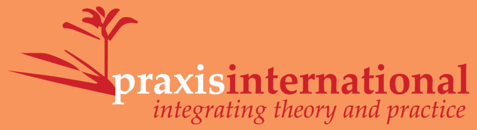 A welcome banner for Praxis International