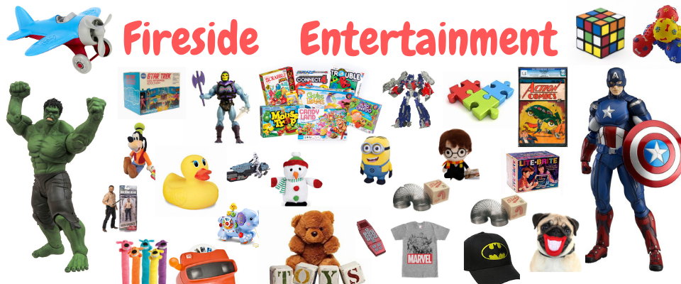 A welcome banner for Fireside Entertainment
