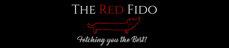 A welcome banner for The Red Fido