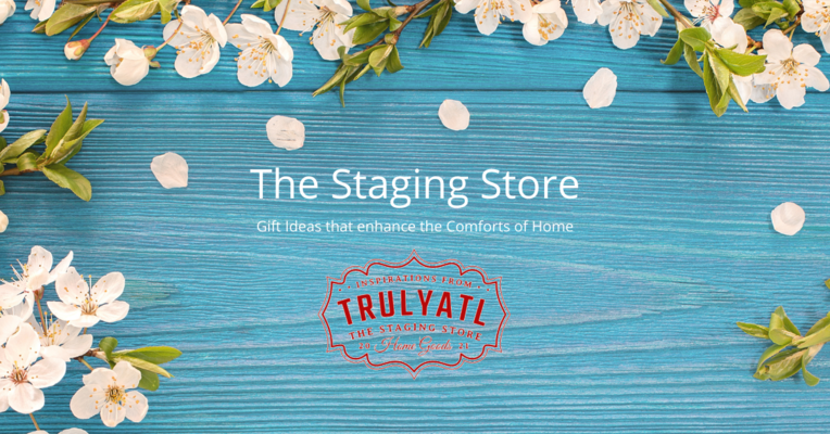 A welcome banner for TrulyATL the Staging Store
