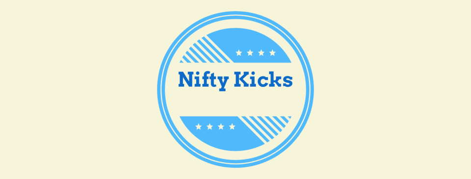 A welcome banner for Nifty Kicks