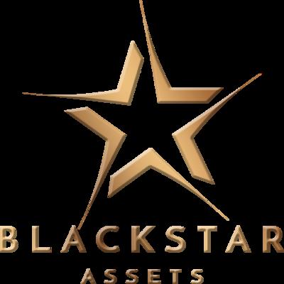 A welcome banner for Blackstarassets.com