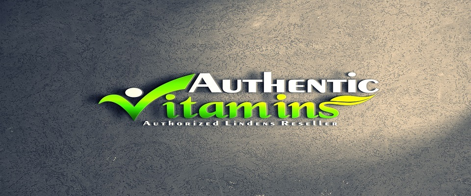 A welcome banner for Authentic_Vitamins's booth