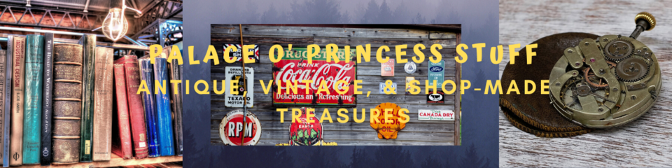 A welcome banner for Palace O' store