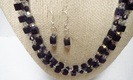 Blue_goldstone_two_strand_necklace_set