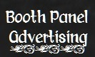 Booth panel advertising 133 x 80