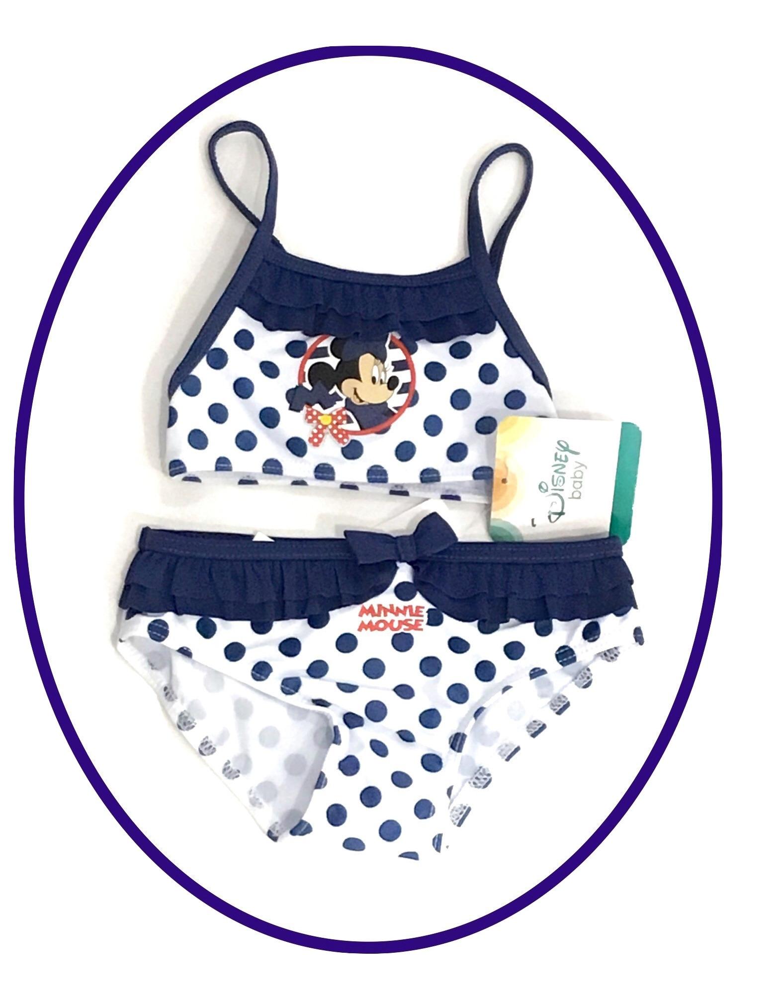 20622bef96a3 Costume da bagno Bikini 2 pezzi Neonata Bambina per Mare e Piscina Minnie  Disney Mouse