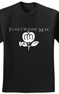Fleetwood mac rock retro style black t shirt size s m l xl 2xl 3xl