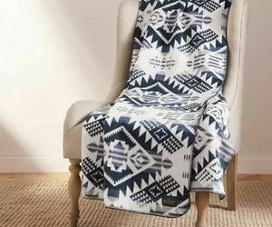 NEW Pendleton Home Collection Classic Throw Reversible Navy, an item from the 'Quilts and Throws' hand-picked list