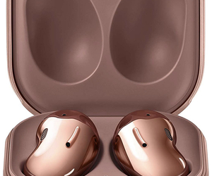 Samsung Galaxy Buds Live Wireless Headset Mystic Bronze SM-R180NZNAXAR NEW!, an item from the 'Travel Must-Haves' hand-picked list