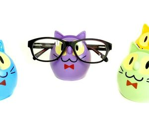 Eyeglass Holder Glasses Sunglasses Stand Display Rack Smartphone Holder Cat , an item from the 'Vision with Style' hand-picked list