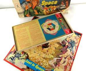 Vintage Milton Bradley 4631 LOST IN SPACE Board Game 1965 CBS TV Series, an item from the 'Community Picks: Game On...' hand-picked list