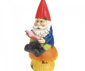 Bookworm Gnome Solar Statue, an item from the 'Community Picks: Believe in Mystical Magic' hand-picked list