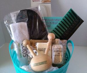 Spa Women Gift Basket for Her Gift Just Because Relax Bathroom Birthday Massage, an item from the 'Blissful Baths' hand-picked list