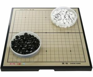 Portable Magnetic Go Game Board Set Plastic Piece Outdoor Travel Party Accessory, an item from the 'It's all Fun and Games!!' hand-picked list
