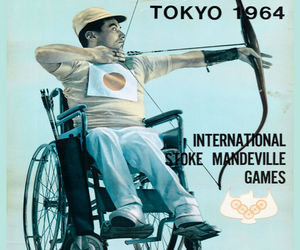 Decoration Poster.Home room art.Interior design.Paralympic.Japan.Archer.7444, an item from the 'Paralympic Souvenirs' hand-picked list