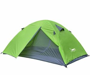 Backpacking Tent 2 Person Aluminum Pole Lightweight Camping Hiking Travelling, an item from the 'Camping Gear' hand-picked list