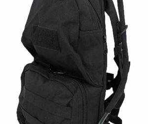 Tactical Scorpion Gear Military 2L Hydration Badger MOLLE Backpack - Black, an item from the 'It's in the Bag - Backpacks' hand-picked list