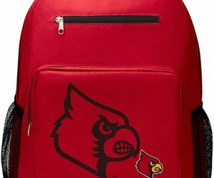 """Louisville Cardinals """"Playmaker"""" Backpack, 18"""" x 5"""" x 13""""…, an item from the 'It's in the Bag - Backpacks' hand-picked list"""