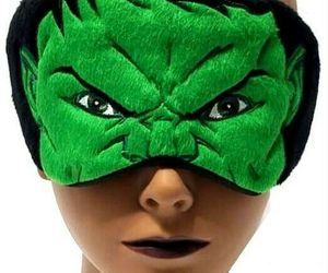 Marvel HULK 7x3 in Sleeping Eye Mask Light-Blocking Cover with Elastic Headband , an item from the 'Travel Must-Haves' hand-picked list