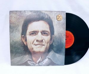 VINTAGE 1971 Johnny Cash Collection LP Vinyl Record Album KC30887, an item from the 'Record Store Day' hand-picked list