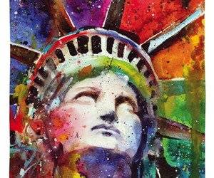 Lady Liberty Flag 2 Sided Decorative Banner, an item from the 'Community Picks: Lady Liberty' hand-picked list
