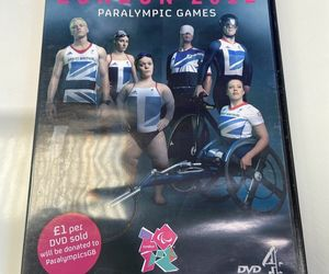 DVD - MEET THE SUPERHUMANS LONDON 2012 PARALYMPIC GAMES, an item from the 'Paralympic Souvenirs' hand-picked list
