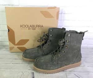 Koolaburra by UGG Neston Dusty Olive Lace Up Suede Chukka Boots Men's Size 8 NEW, an item from the 'Fall Footwear' hand-picked list