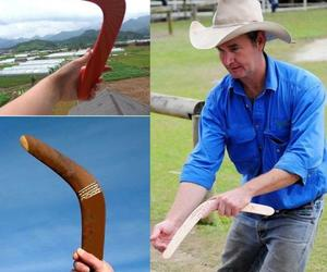 Kangaroo Throwback V Shaped Boomerang Flying Disc Throw Catch Outdoor Game Toy, an item from the 'It's all Fun and Games!!' hand-picked list