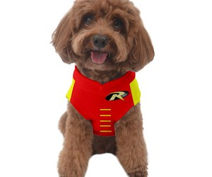 Dog Sweater robin cosplay superhero baman many sizes big small s m l xl xxl xxxl, an item from the 'Dog Costumes and Toys' hand-picked list
