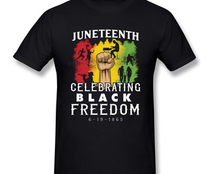 Juneteenth Black Freedom June 19th 1867 Cotton T shirt man ( 50% off ), an item from the 'Juneteenth Celebrations' hand-picked list