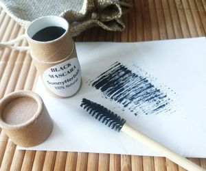 MASCARA BLACK Natural Ayurvedic Herbal HANDMADE IN USA Eye Makeup Zero Waste , an item from the 'Sustainable Beauty' hand-picked list