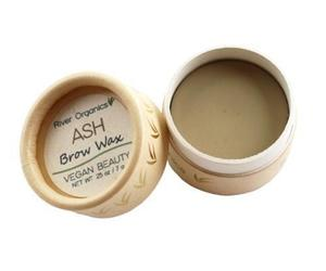 Organic Dark Eyebrow Wax Makeup , an item from the 'Sustainable Beauty' hand-picked list