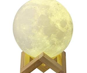CPLA Moon Lamp 3D Moon Light led Night Light Touch Control and (5.9in-3 Color), an item from the 'Gifts for Grads' hand-picked list