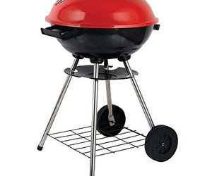 Brentwood BB-1701 BBQ Grill Portable Charcoal,17-inch,Red, an item from the 'Summer Party' hand-picked list