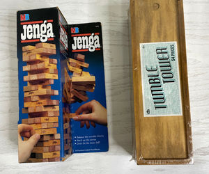 Lot of 2 NIB Jenja and Tumble Tower Game Set Beach Party Outdoors Indoor Family, an item from the 'It's all Fun and Games!!' hand-picked list