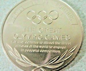 MUNICH GERMANY SAPPORO JAPAN,THE GREAT OLYMPIC MOMENTS  XX OLYMPIAD,TOKEN, an item from the 'Community Picks: Olympics in Japan' hand-picked list
