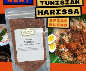 Organic Harissa: Hot Tunisian Seasoning with Chili Peppers, an item from the 'Community Picks: Hot and spicy with Harissa ' hand-picked list