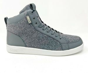 Clae Russell Charcoal Grey Wool Mens Casual Sneakers, an item from the 'Fall Footwear' hand-picked list