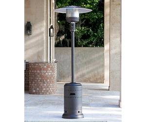 Outdoor Patio Heater w Wheel Kit, 46000 BTUs, Electronic Ignition | NEW, an item from the 'Summer Outdoor Furniture' hand-picked list