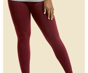 Sofra Womens Plus Size Fleece Lined Warm Legggings Fall Winter Clothing 4 Colors, an item from the 'All Things Cozy' hand-picked list
